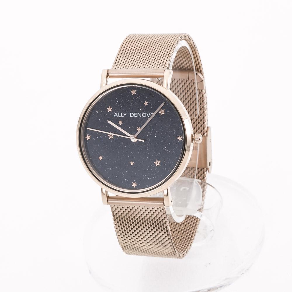 アリーデノヴォ ALLYDENOVO 腕時計 Starry Sメッシュ+レザー付36m AF5017.4  ギフトラッピング無料 ラッキーシール対応