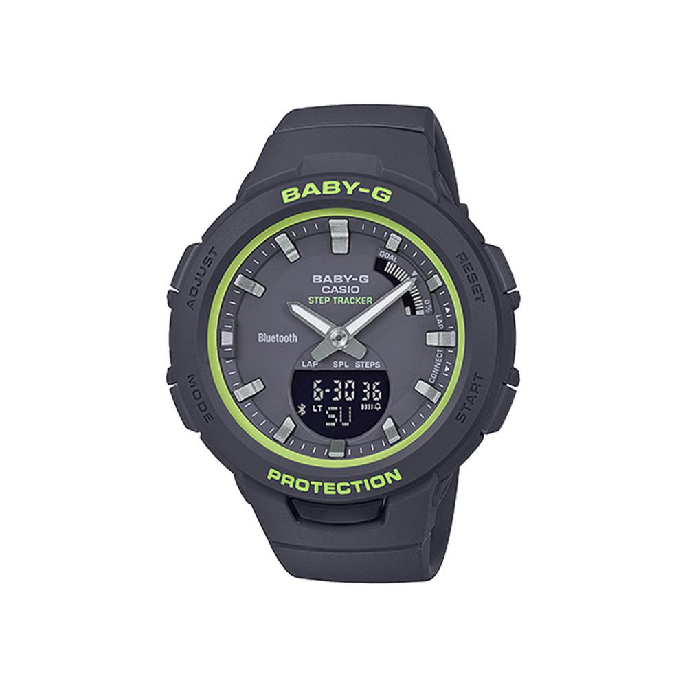 ベイビージーカシオ BABY-G CASIO 腕時計 レディース G-SQUAD BluetoothLウォッチ BSA-B100SC-1AJF ブラック 0 ギフトラッピング無料 ラッキーシール対応