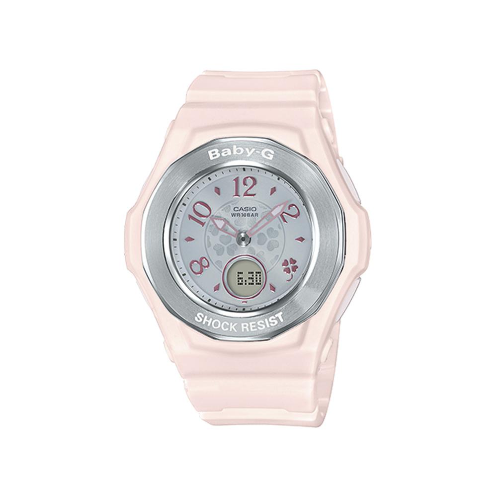 ベイビージーカシオ BABY-G CASIO 腕時計 レディース クローバーダイアルマルチ6電波ソーラー BGA-1050CD-4BJF/ピンク 0 ギフトラッピング無料 ラッキーシール対応