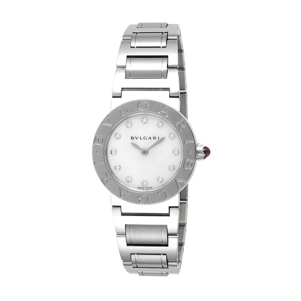 ブルガリ BVLGARI 腕時計 NEWブルガリブルガリ12P26ミLウォッチ BBL26WSS 12P SV WH Q シルバー 0 ギフトラッピング無料 ラッキーシール対応