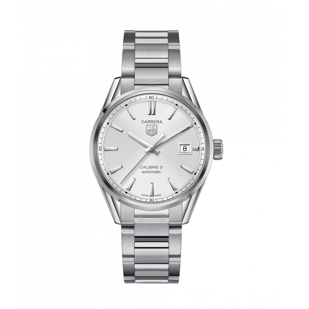 タグホイヤー TAG HEUER 腕時計 カレラキャリバー5 Mウォッチ WAR211B.BA0782 S S A シルバー 0 ギフトラッピング無料 ラッキーシール対応