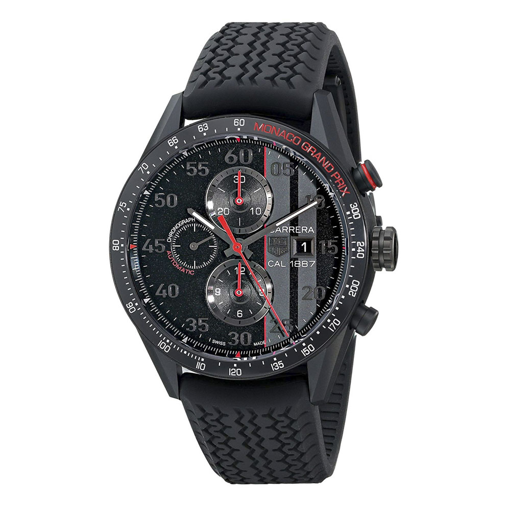 タグホイヤー TAG HEUER 腕時計 カレラクロノ1887 モナコGP限定M CAR2A83.FT6033 B B A ブラック 0 ギフトラッピング無料 ラッキーシール対応
