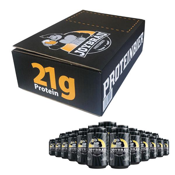 プロテインビール ジョイブラウ (1箱24本)JOYBRAU [マッスルデリ] クラフトビール ノンアルコールビール 筋トレ