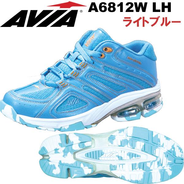 [AVIA]アビア フィットネスシューズ A6812W LH〔ライトブルー〕(22.5~27.0cm/レディース/メンズ)【18SS04】【アヴィア正規品】/送料無料