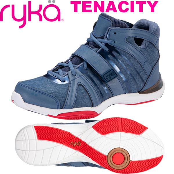 [RYKA]ライカ フィットネスシューズ TENACITY<テナシティー> E1269M-P401 〔ブルー/デニム風〕(22.0~26.5cm/レディース/メンズ)【ダンスシューズ】【18FW08】【正規品】/送料無料