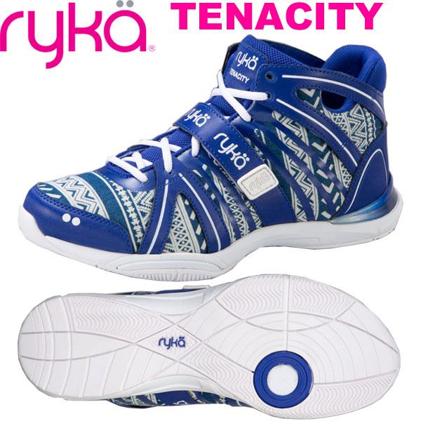 [RYKA]ライカ TENACITY 〔キカガク×ブルー〕 E1269M-Q402(22.0~26.5cm/レディース/メンズ)<テナシティー>【フィットネス・ダンスシューズ】【19SS03】【正規品】/送料無料