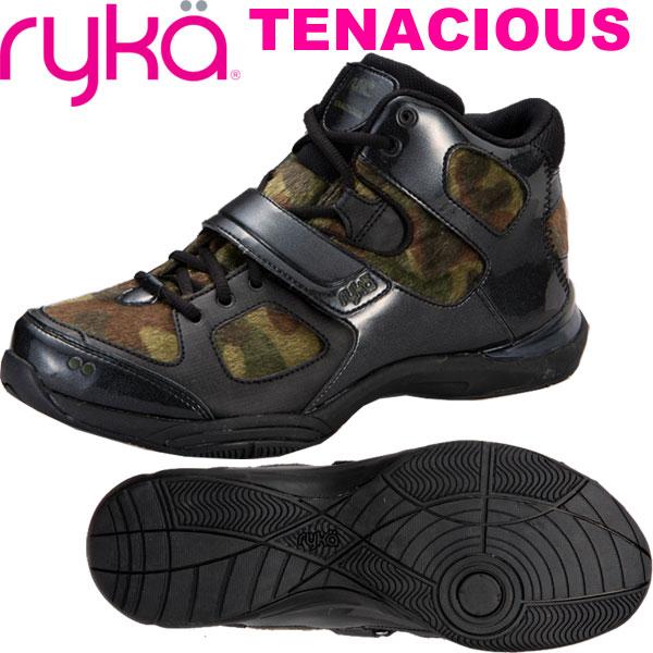 [RYKA]ライカ フィットネスシューズ TENACIOUS<テナシオス> E6643M-A004 〔カモ柄/起毛〕(22.0~28.0cm/レディース/メンズ)【ダンスシューズ】【18FW09】【正規品】/送料無料