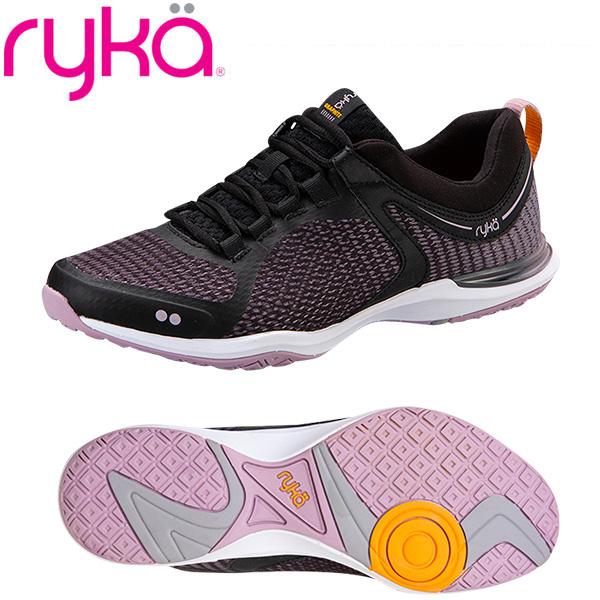 ライカ グラファイト GRAPHITE ブラック×ピンク (22.0~28.0cm/レディース メンズ) 【20SS04】 [RYKA] フィットネスシューズ エアロ