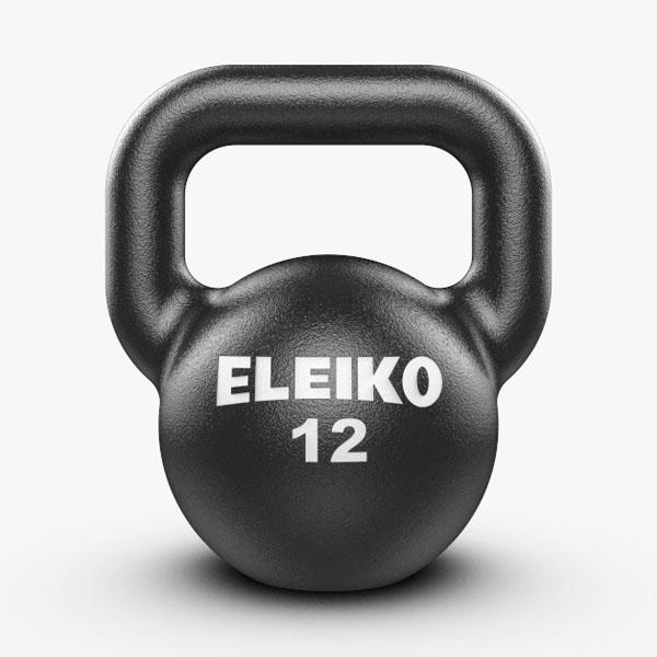 スウェーデン発 世界品質 トレーニング用ケトルベル WEB限定 12kg Training Kettlebells ゲットアップ ELEIKO エレイコ クロスフィット ホームジム 筋トレ 通常便なら送料無料