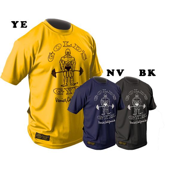 吸汗速乾 ゴールズドライシリーズ ゴールズドライシャツ オリジナル M L 新品 GOLD'S トレーニング 安い XLサイズ ゴールドジムウェア GYM_W