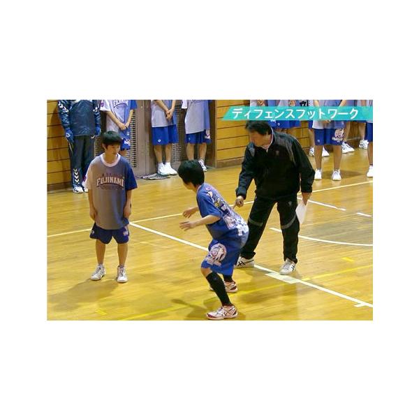 「攻防の基本を徹底するバスケットボール実戦ドリル集」 全4枚DVD 【代引き不可】 [ジャパンライム]