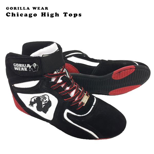 トレーニングシューズ(レディース24.0cm相当)GORILLA WEAR CHICAGO HIGH TOPS 【当店在庫品/送料無料】 [海外セレクション]