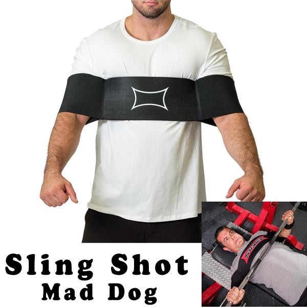 スリングショット マッドドッグ MAD DOG SLING SHOTS (L・XLサイズ) 【当店在庫品/送料無料】 [海外セレクション] ★ささみプロテインバープレゼント★
