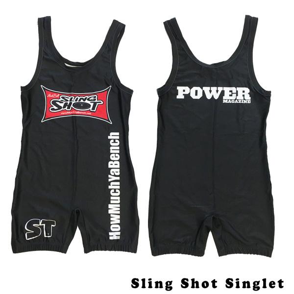 パワー&ウエイトリフティング用シングレット スリングショット シングレット SLING SHOT SINGLET (S・Mサイズ) 【在庫限りで販売終了/送料無料】 [海外セレクション]