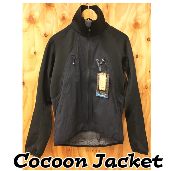 ティートンブロス コクーンジャケット (ブラック S・Mサイズ)Cocoon Jacket 【当店在庫品/送料無料】 [Teton Bros.] ◆MCTゼリー サンプルプレゼント中◆