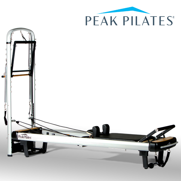 ピークピラティス MVeリフォーマー+タワーシステム 〔業務用マシン〕/【配送料・搬入組立設置費 別途見積り】 ※代引不可※ [Peak Pilates]