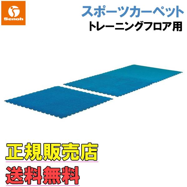 [セノー] Senoh スポーツカーペット 【幅1000×長さ1000×厚さ15mm】【重量3.5kg】【Senoh正規販売店】【クッション材】【マット】/送料無料※代引不可※