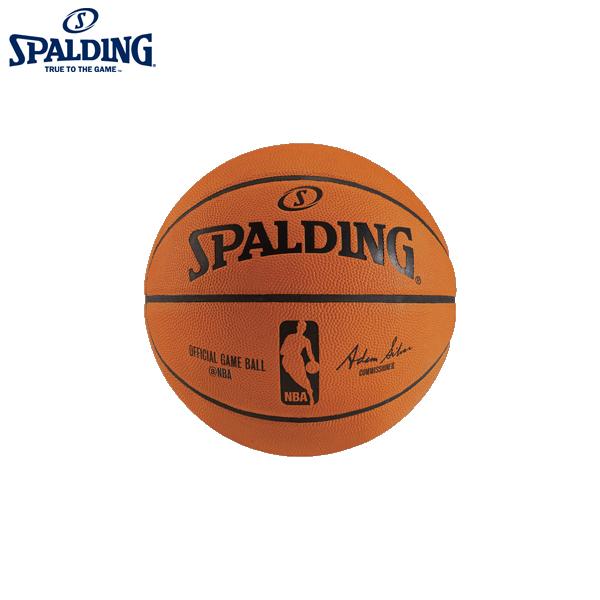 スポルディング オフィシャルNBAゲームボール 【NBA公式試合球】【7号】 [SPALDING]