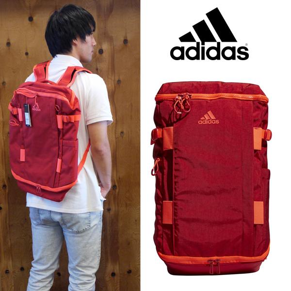 [adidas] アディダス OPS バックパック 30L【18FW08】【カラー:スカーレット】【数量限定商品】【当店在庫品】/送料無料