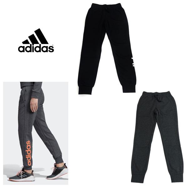 [adidas] アディダス リニアロゴ パンツ (レディース/Mサイズ)【1910】【数量限定商品】【当店在庫品】