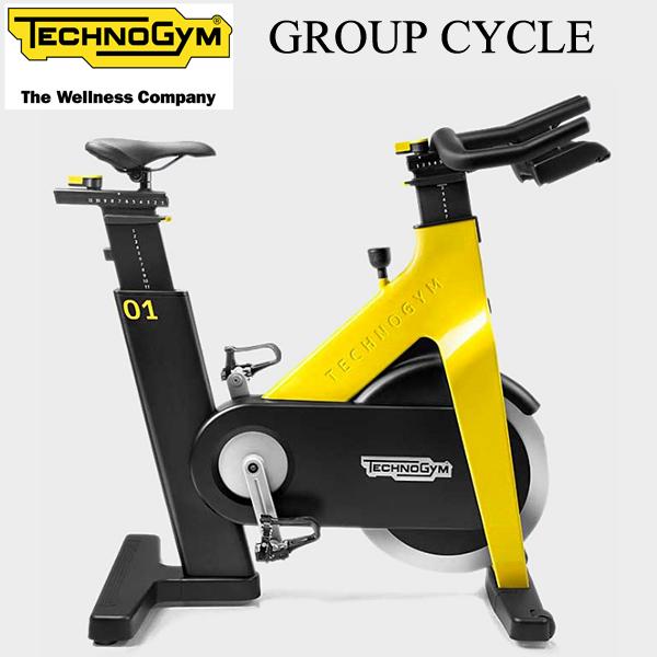 [Technogym]テクノジム GROUP CYCLE(グループサイクル)「インドアサイクル」「カラー:イエロー」【送料無料/組立設置無料】※代引不可