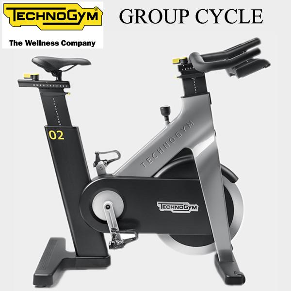 [Technogym]テクノジム GROUP CYCLE(グループサイクル)「インドアサイクル」「カラー:ライトグレー」【送料無料/組立設置無料】※代引不可