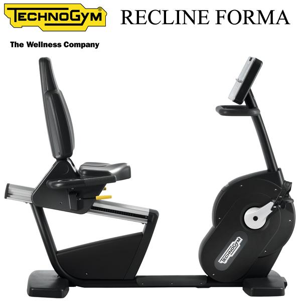 [Technogym]テクノジム RECLINE FORMA(リクライン フォルマ)【送料無料/組立設置無料】※代引不可