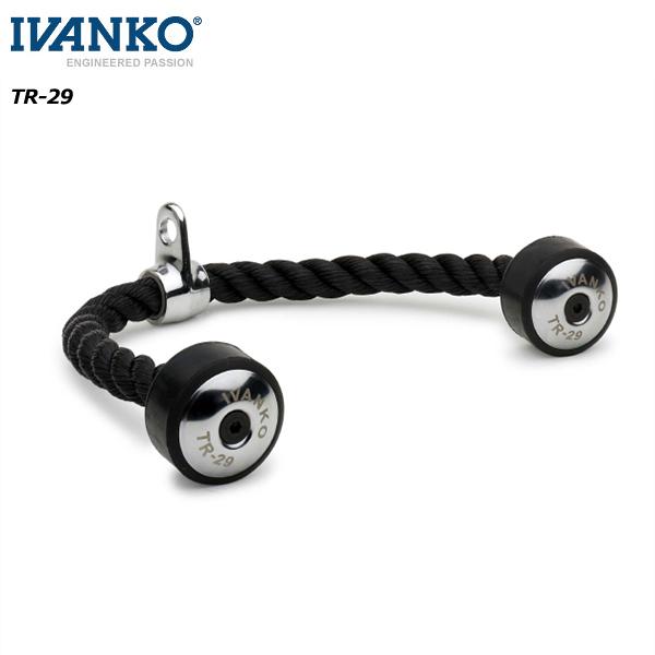 [IVANKO] トライセップロープ【当店在庫品】【ケーブルマシンアタッチメント】/送料無料