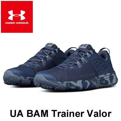 [アンダーアーマー] UA BAM Trainer Valor〔FNV/ADY/GRV〕(26.0~28.0cm/メンズ)【トレーニングシューズ】【18SS02】【当店在庫品】/送料無料