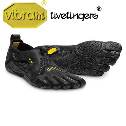 [vibram fivefingers] ビブラムファイブフィンガーズ Men's Signa(シグナ)〔Black/Yellow〕(メンズ)【ウォータースポーツ、最軽量】/送料無料