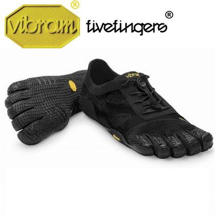 [vibram fivefingers] ビブラムファイブフィンガーズ Women's KSO EVO Black(レディース)/送料無料