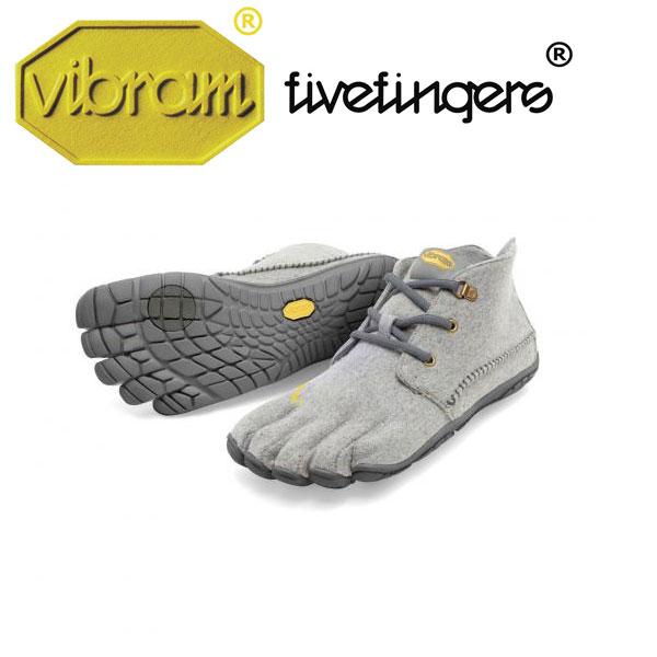 Men's CVT-WOOL シーヴィーティーウール Grey メンズ [vibram fivefingers ビブラムファイブフィンガーズ] ※返品・交換不可セール商品※