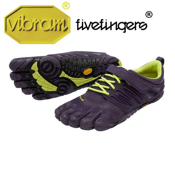 [vibram fivefingers] ビブラムファイブフィンガーズ Women's V-Train(ブイトレイン)〔Nightshade/Safety Yellow〕(レディース)/送料無料