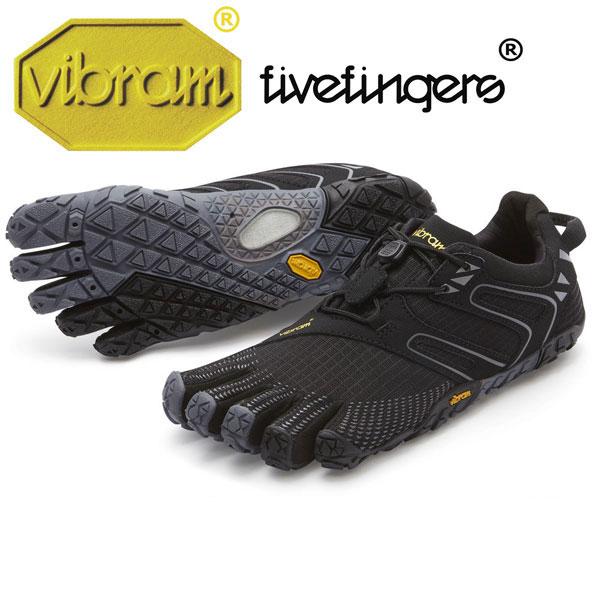 [vibram fivefingers] ビブラムファイブフィンガーズ Women's V-Trail(ブイトレイル)〔Black/Grey〕(レディース)/送料無料