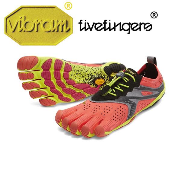 Women's V-Run ラン Fiery Coral レディース [vibram fivefingers ビブラムファイブフィンガーズ] ※返品・交換不可セール商品※