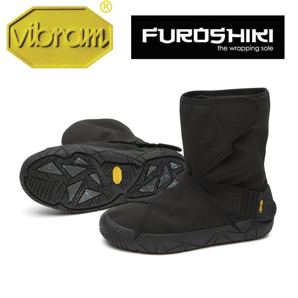 [vibram] ビブラム FUROSHIKI OSLO WP〔BLACK〕(レディース/ふろしき・包みこむ保温&防水ブーツ)/送料無料