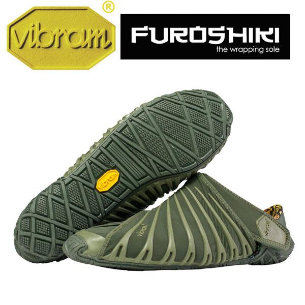 [vibram] ビブラム FUROSHIKI〔OLIVE〕(レディース/ふろしき・包みこむシューズ)/送料無料