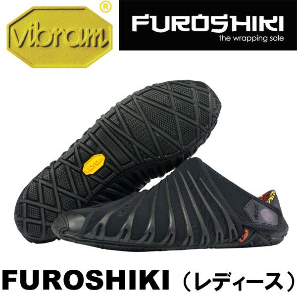 [vibram] ビブラム FUROSHIKI〔BLACK〕(レディース/ふろしき・包みこむシューズ)/送料無料