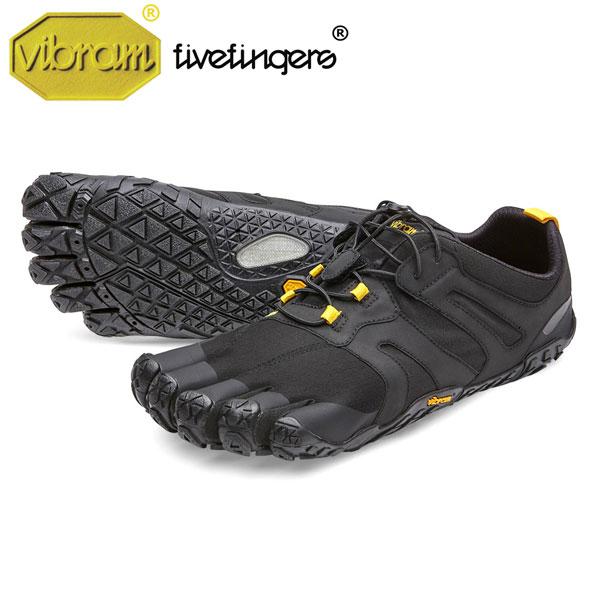 Men's V-Trail 2.0 トレイル Black/Yellow メンズ [vibram fivefingers ビブラムファイブフィンガーズ]