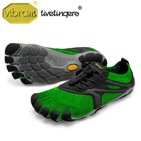 Men's V-Run ラン Green/Black レディース [vibram fivefingers ビブラムファイブフィンガーズ]