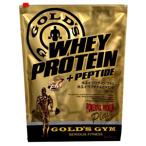 GOLD'S GYM(ゴールドジム)ホエイプロテイン プレーン 2kg[F3420]【02P05Nov16】