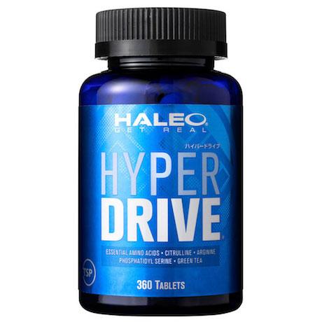 【必須アミノ酸6000mg配合】HALEO(ハレオ)HYPER DRIVE(ハイパードライブ) 360タブレット