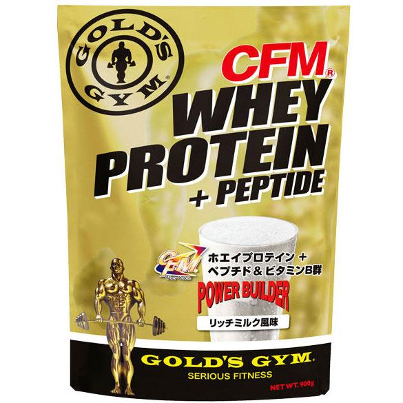 GOLD'S GYM(ゴールドジム)ホエイプロテイン リッチミルク風味 2kg[F3320]CFM