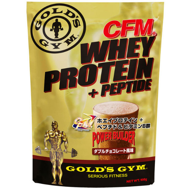 GOLD'S GYM(ゴールドジム)ホエイプロテイン ダブルチョコレート 2kg[F3520]【02P05Nov16】