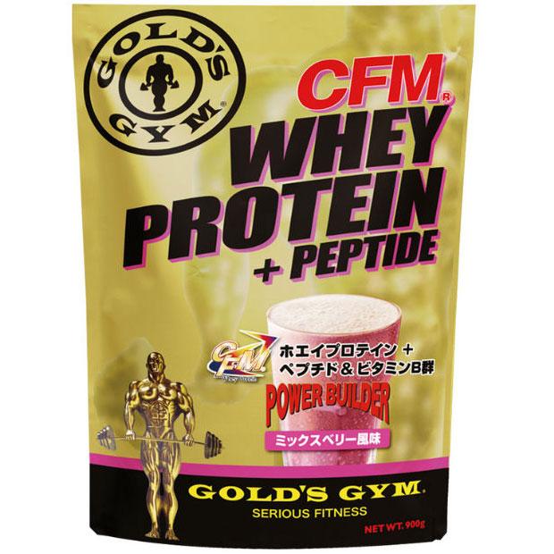 GOLD'S GYM(ゴールドジム)ホエイプロテイン ミックスベリー風味 2kg[F3620]CFM