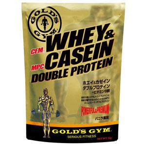 GOLD'S GYM(ゴールドジム)ホエイ&カゼインダブルプロテイン 2kg[F7160]