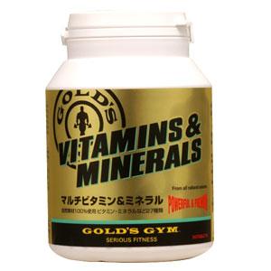 【100%天然素材使用】GOLD'S GYM(ゴールドジム)マルチビタミン&ミネラル 360粒[F2520]