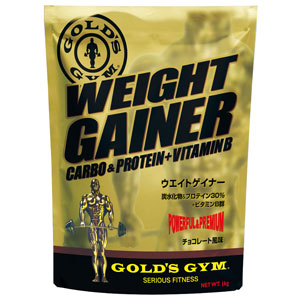 筋肉量 売却 体重アップを狙う方に GOLD'S GYM ゴールドジム 1kg セール 特集 F8500 ウエイトゲイナー チョコレート風味
