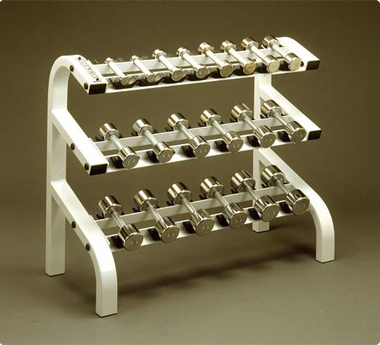 Ivanko Weight Rack: Fitnessshop: Rack For 15 Pairs Of Racks For IVANKO (Ivan