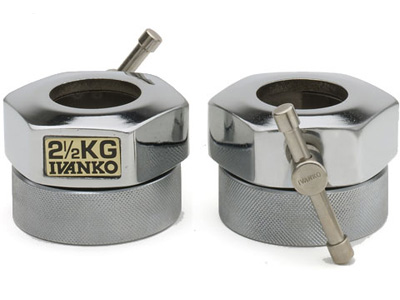 【入荷待ちご予約になります】IVANKO(イヴァンコ)オリンピックスタンダードカラー COC-2.5(φ50mm専用)2個1組